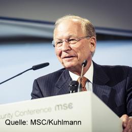 Keynote Speaker Wolfgang Ischinger