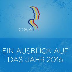 Redneragentur CSA Ausblick 2016