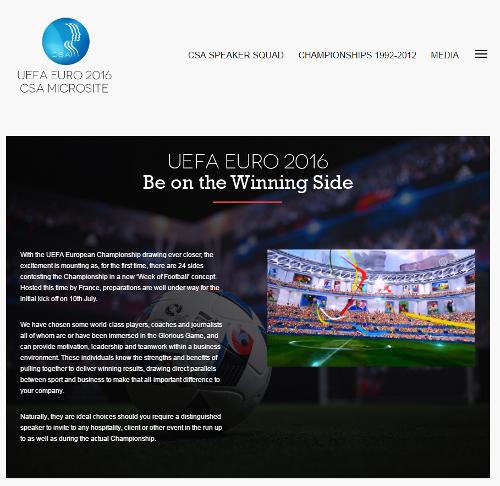 CSA Redneragentur UEFA Euro 2016