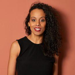 Moderatorin Boussa Thiam