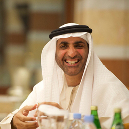 Keynote Speaker Sheikh Abdul Aziz Ali Al Nuaimi